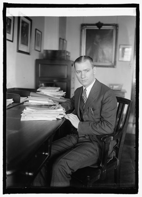 Ugo J.A. Carusi, Sect'y to Atty. Gen. Sargent