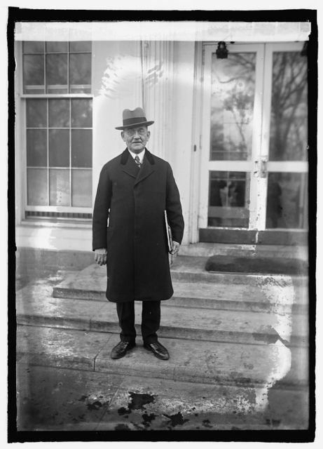 W.T. Galleher, Chairman of Inaugural Committee, [1/25]