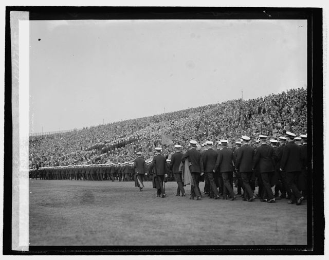 Middies at Navy - Princeton game, 10/17/25