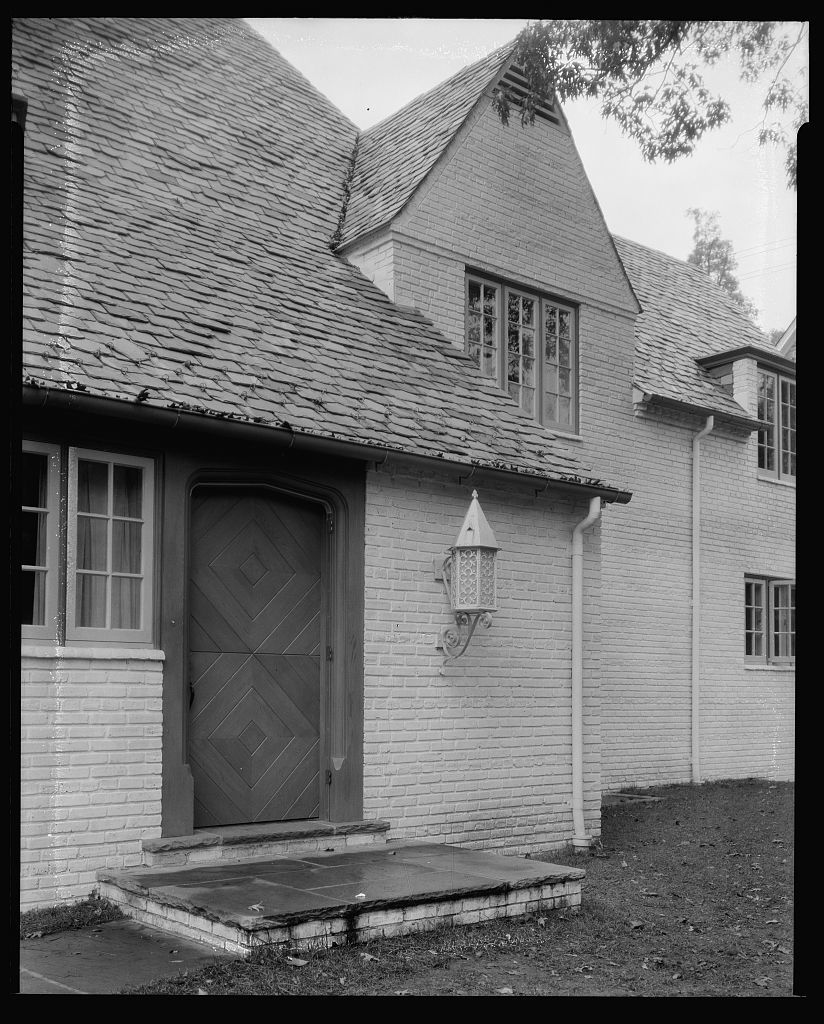 [A. Wm. Field house, Underwood Road at Northway, in Guilford section of Baltimore, Maryland]
