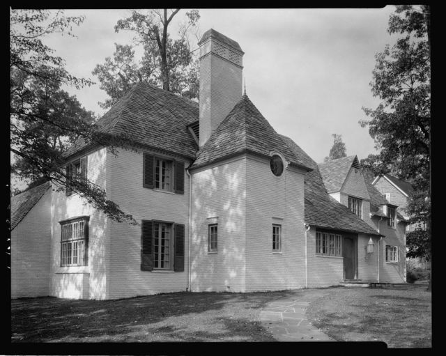 [A.Wm Field house, Underwood Road at Northway, in Guilford section of Baltimore, Maryland]