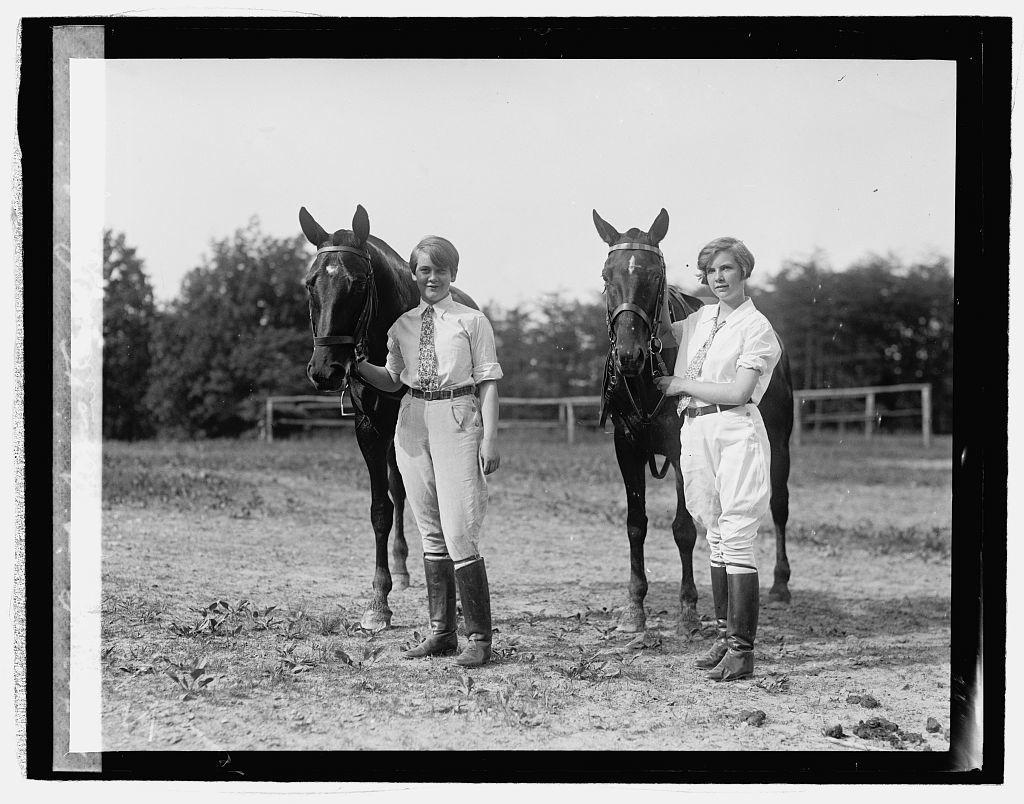 Betty Davis & Ann Rawlings
