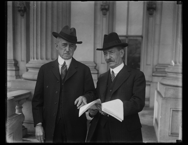[Claude Swanson, right. U.S. Capitol, Washington, D.C.]