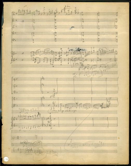 [Concerto for Harpsichord or Piano, Flute, Oboe, Clarinet, Violin, and Cello, 1923-1926]