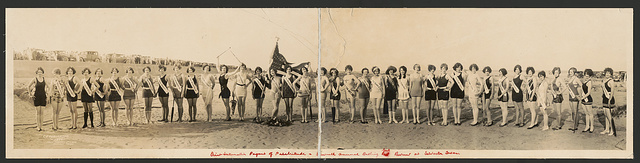 First Internation[al] Pageant of Pulchritude & Seventh Annual Bathing Girl Review at Galveston, Texas