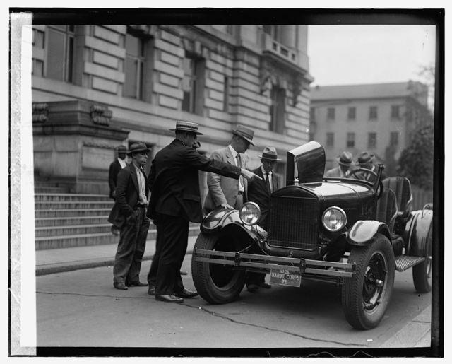 Ford Motor Co. Marine Car at Dist. Bldg., [9/14/26]