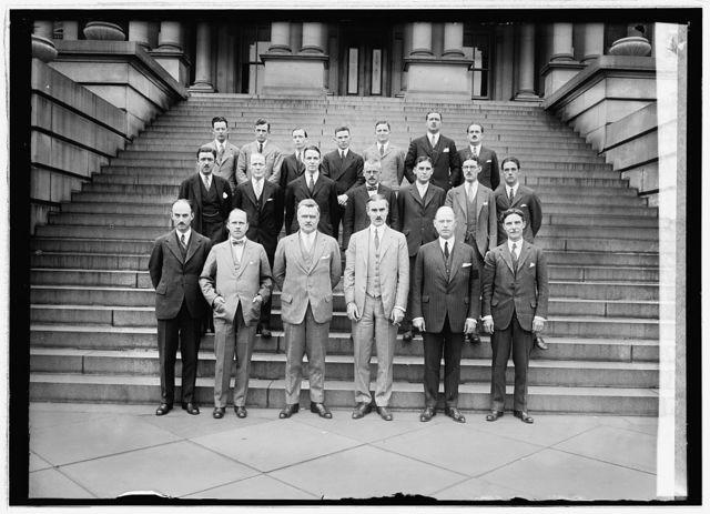 Foreign service class, State Dept., [Washington, D.C., 5/4/26]