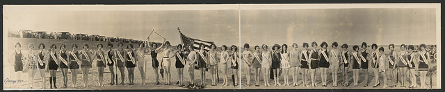 [Galveston Bathing Review, 1926]