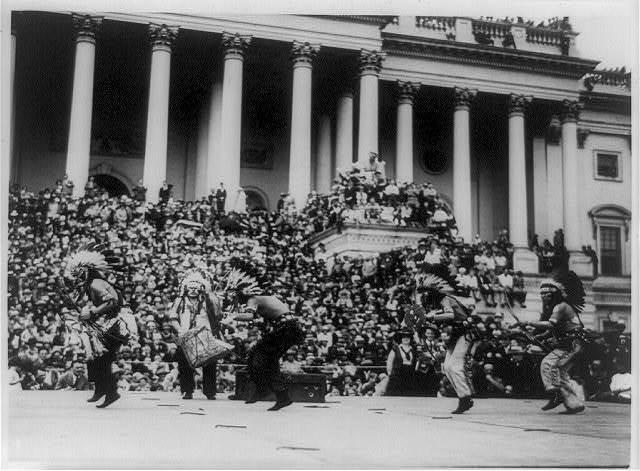 "Hopi Indian ""war"" dance at the U.S. Capitol"