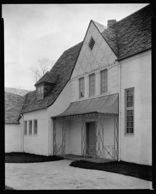 [House for Dr. Curtis Field Burnam, 11 Gittings Avenue, Baltimore, Maryland]