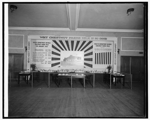 Industrial exposition, 1926, Chestnut Farms Dairy