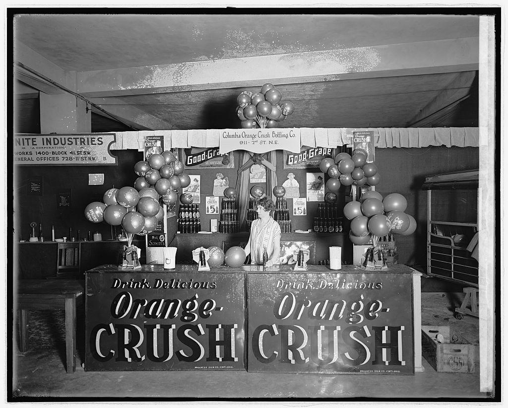Industrial exposition, 1926. Orange Crush