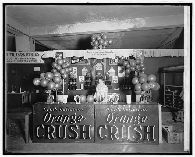 Industrial exposition, 1926. Orange Crush