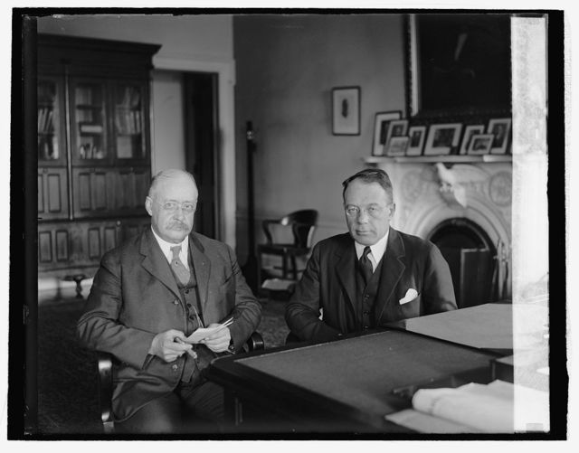 James A. Wetmore & Chas. S. Dewey (Treasury Dept), [6/7/26]