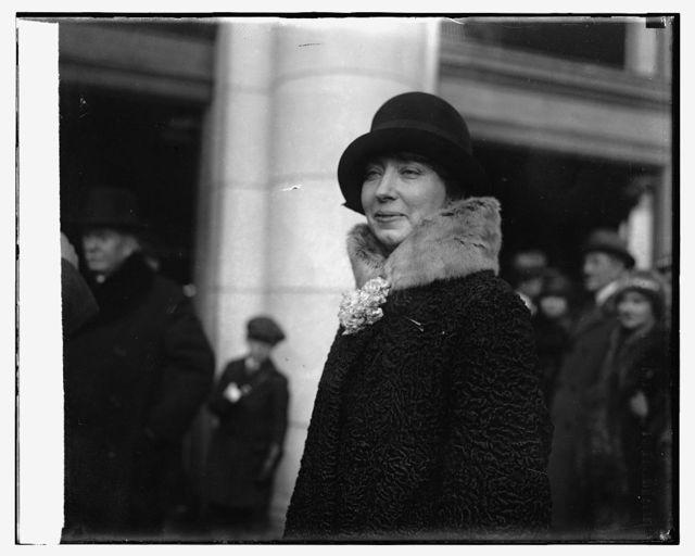 Mme. Henri Berenger, [1/14/26]