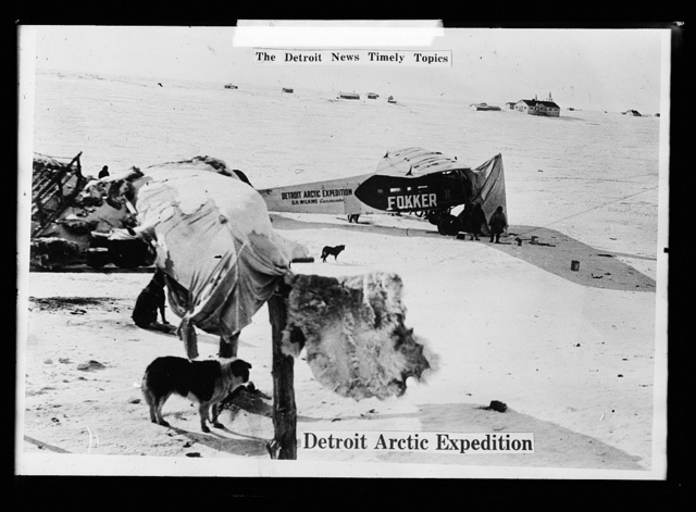 The Detroit News timely topics.  Detroit Arctic Expedition