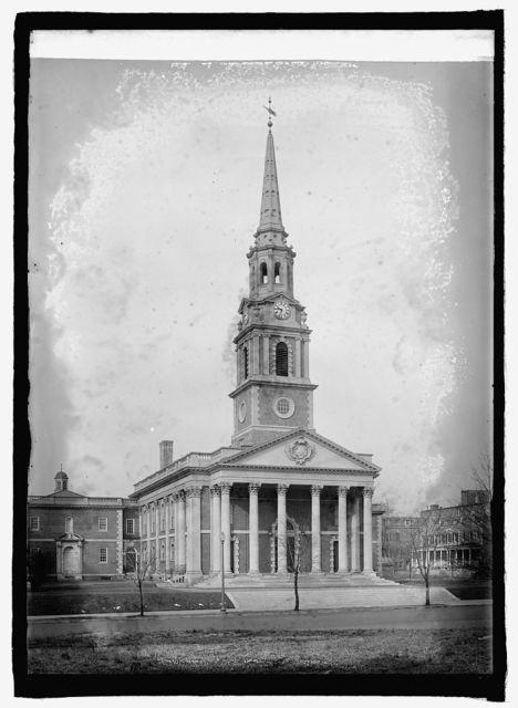 Unitarian Church, 16th & Howard St.