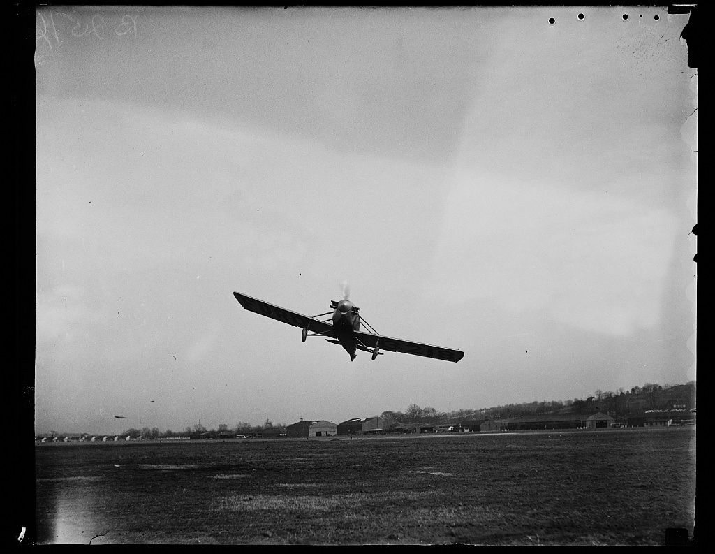 [Airplane, Bolling Field, Washington, D.C.]