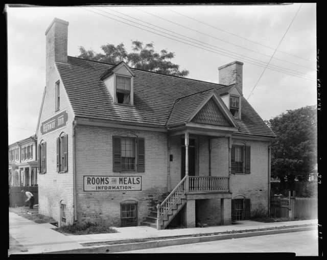 Brick House, Princess Anne Street, Fredericksburg, Virginia
