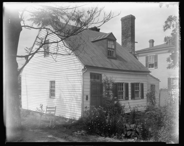 Cabin, Factory Street, Fredericksburg, Virginia