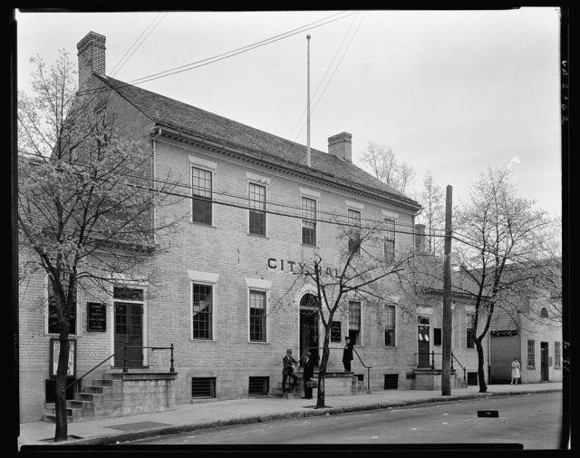 City Hall, Fredericksburg, Virginia