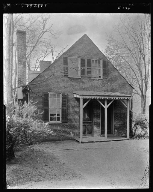 Coghill house, Quarters, S. Main Street, Fredericksburg, Virginia