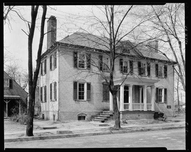 Coghill house, S. Main Street, Fredericksburg, Virginia