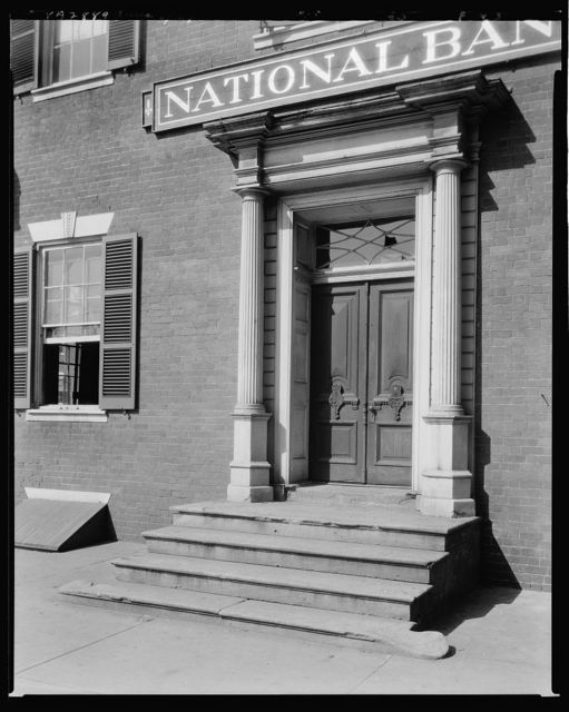 Dabney Herndon House, Princess Anne Street, Fredericksburg, Virginia