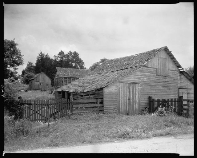 Dr. Jett's Farm, Outbuildings, Falmouth, Stafford County, Virginia