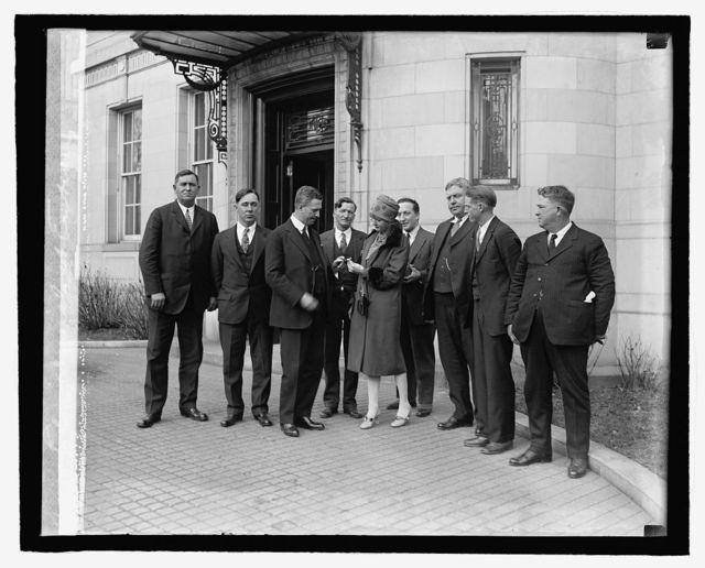 Elga Daniels at embassy, [2/27]