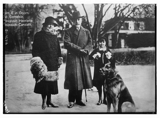 Ex-Kaiser & wife