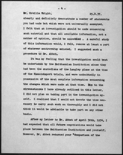 General Correspondence:  Lindbergh, Charles A., 1927, 1933-1940, undated