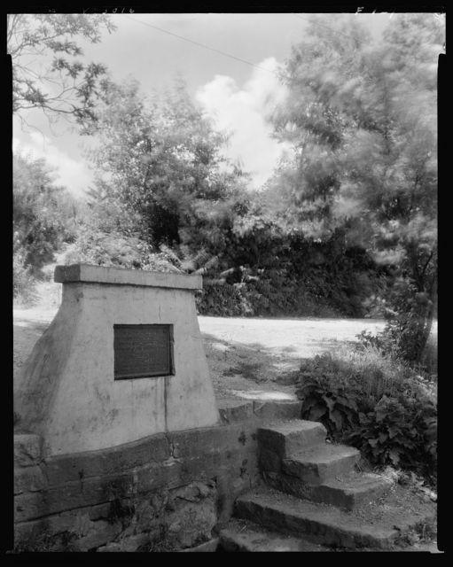 Gunnery Spring, historic site, Fredericksburg, Virginia