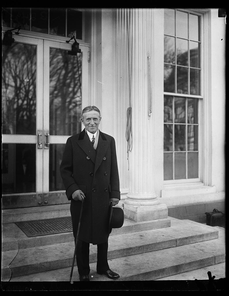 [Henry Stimson. White House, Washington, D.C.]