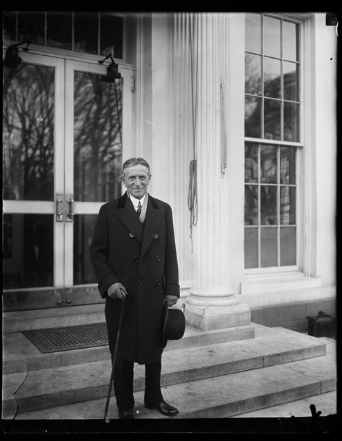 [Henry Stimson. White House, Washington, D.C.]