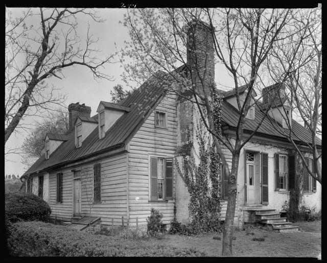 House of Mr. Eddy Brooks, Falmouth, Stafford County, Virginia