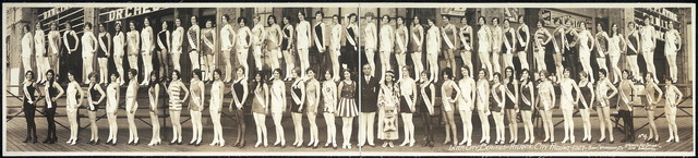 Inter-city beauties, Atlantic City Pageant, 1927