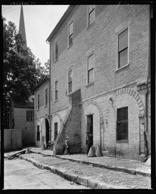 Market Yard, behind City Hall, Fredericksburg, Virginia