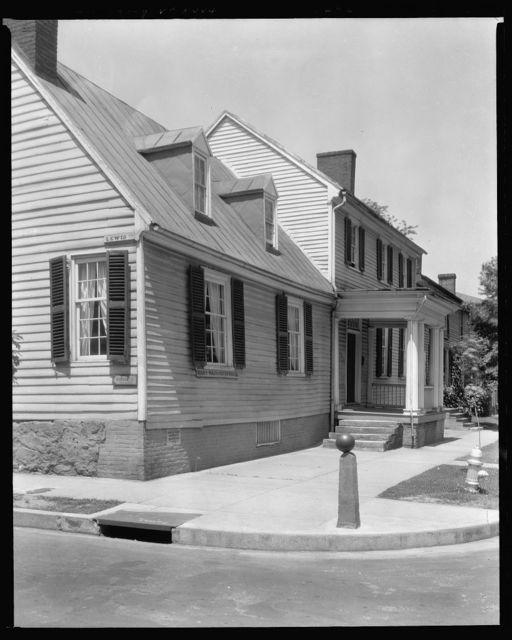 Mary Washington house, Fredericksburg, Virginia
