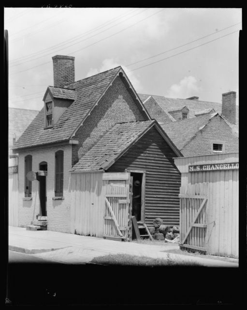 Merchants' Stores and Offices, Brick Office, Charles Street, Fredericksburg, Virginia