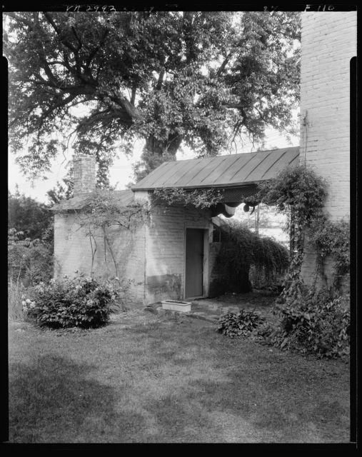 Miss Eliza Roy's House, outbuildings, Main and Pitt Street, Fredericksburg, Virginia