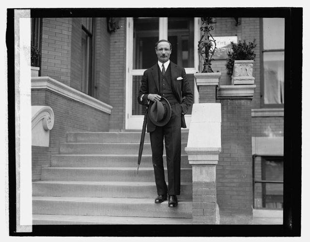 Mr. Chaffey, Secty. Egyptian legation, [5/23/27]