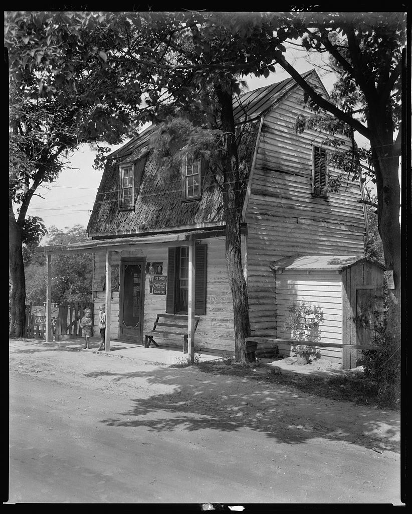 Mrs. Ellis Store, Falmouth, Stafford County, Virginia