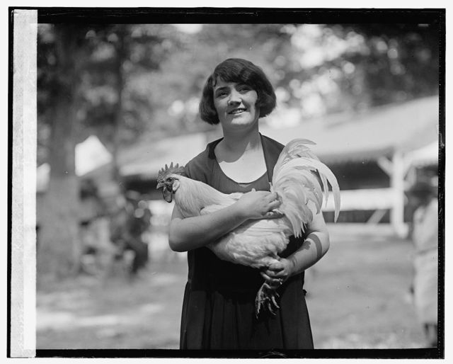 Mrs. Margaret Barnes at Rockville Fair, [8/27/25]
