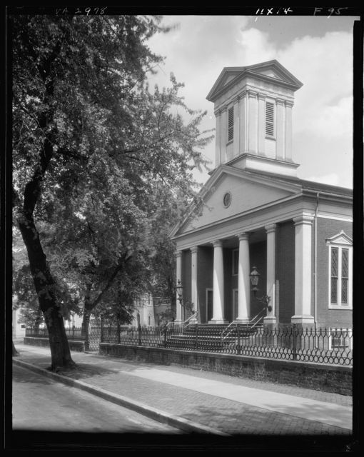 Presbyterian Church, Fredericksburg, Virginia
