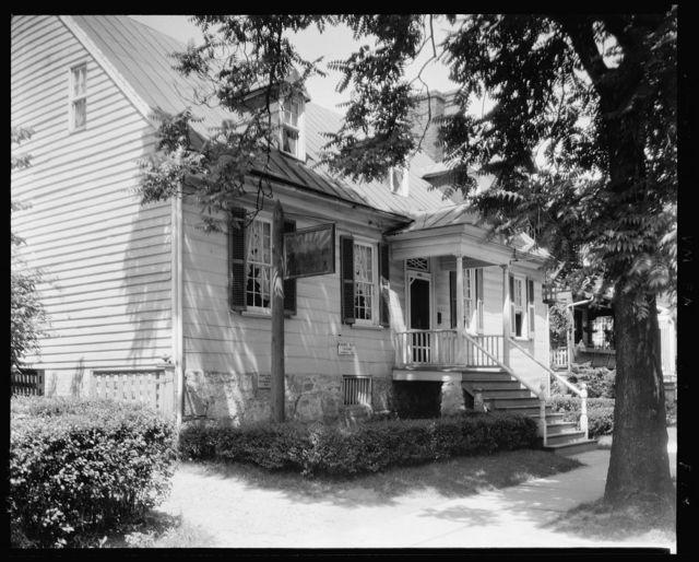 Rising Sun Tavern, exterior, Fredericksburg, Virginia