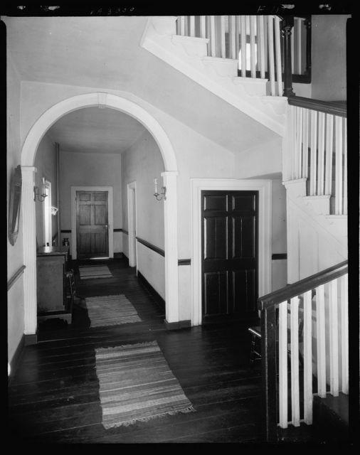 Rising Sun Tavern, hallway, Fredericksburg, Virginia