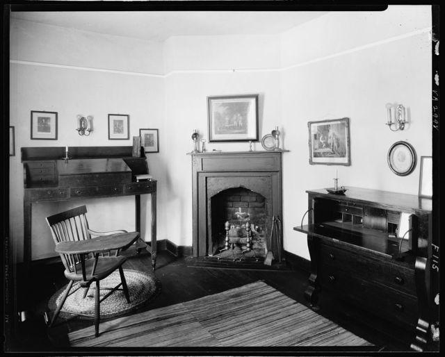 Rising Sun Tavern, office, Fredericksburg, Virginia