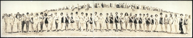 Second International Pageant of Pulchritude and Eighth Annual Bathing Girl Revue, May 21, 22, 23, Galveston, Texas, 1927