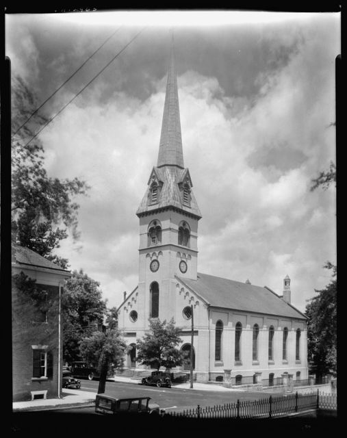 St. George's Church, churchyard, Fredericksburg, Virginia